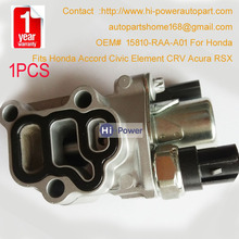 15810-RAA-A01 For Accord For Civic For CR-V Element Vtec Solenoid Spool Valve+Gasket