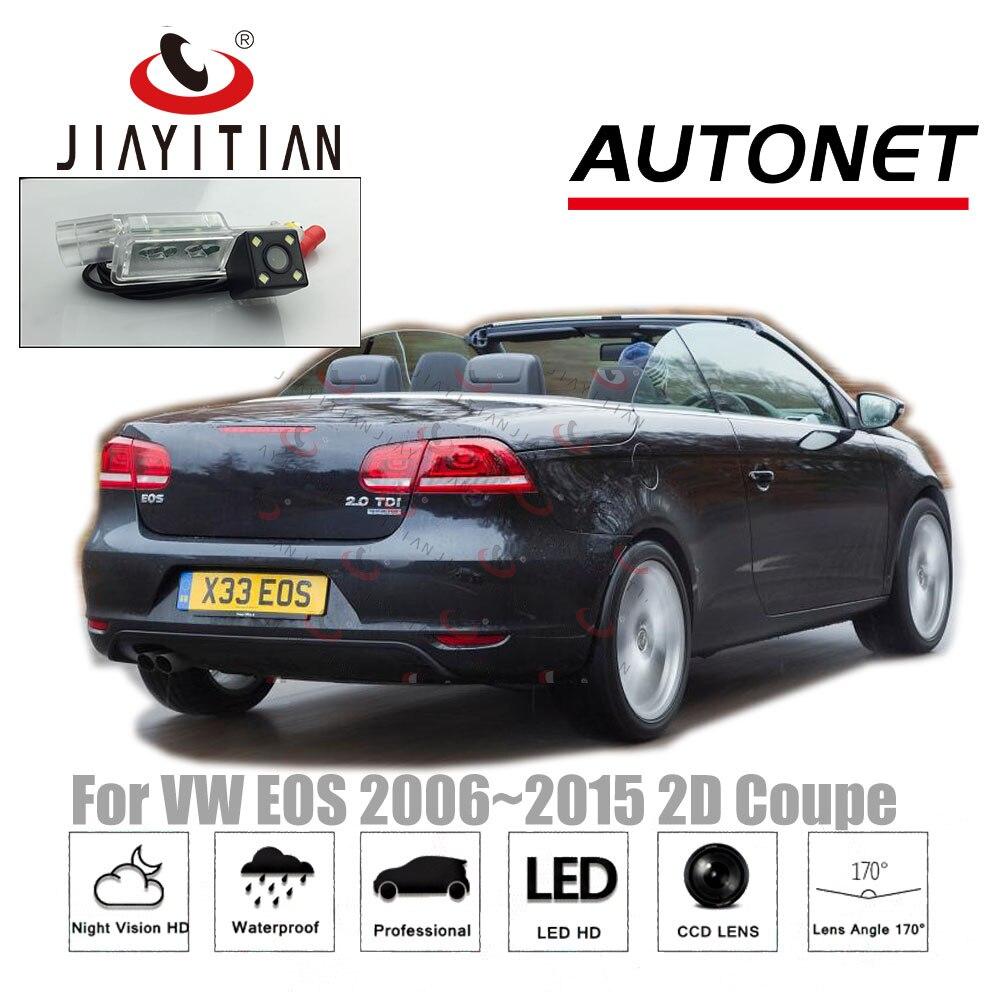 JIAYITIAN-caméra arrière pour VW Volkswagen | Eos 2006 ~ 2015 2010 2008 2013/CCD, Vision nocturne/caméra de sauvegarde/plaque d'immatriculation
