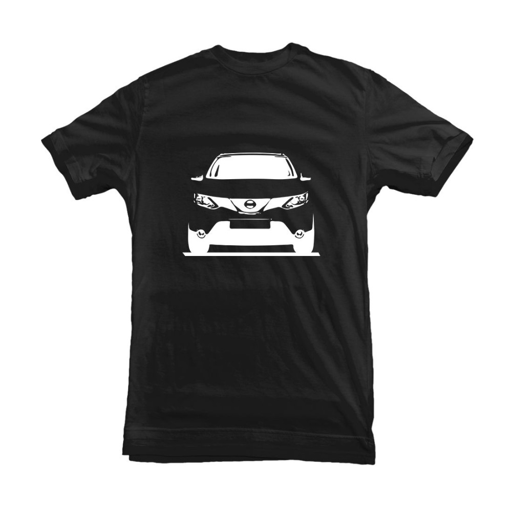 Japanese Classic Car Qashqai Car T-Shirt Gift for Fan Driver Owner Mens Brand Crossfit Designs Slim Fit Crew Neck Movie T-Shirt