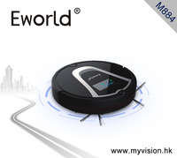 Eworld M884 2016 New Design Dry Wet Robot Vacuum Cleaner For Home MOP Self Charge M884