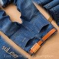 SULEE Brand 2017 Straight Men Jean Pants Plus Size 38 40 Autumn New Denim Trouser Jean Luxury Casual Trousers Male