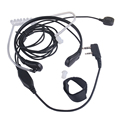 10PCS Throat Microphone Throat Vibration Headset For Two Way Radio BaoFeng UV-5R UV-B5 UV-B6 BF-888S talkie walkie