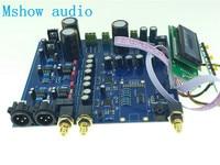 Новый двойной AK4497 ЦАП AK4118 AK4497EQ DSD Native ЦАП 32Bit 384 кГц HIFI аудио вариант xmos или Amanero или удаленных