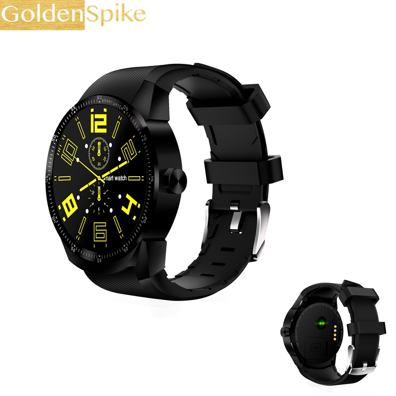 K98H SIM Smart Watch Heart Rate Monitor Smartwatch Android 4.4 MTK6572A Pedometer Bracelet with 3G GPS Smartwatch Stock goldenspike x01 plus android 5 1 bluetooth smart watch mtk6572 support 3g wifi gps single sim micro sim heart rate monitor