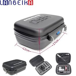 Image 1 - LANBEIKA darbeye dayanıklı su geçirmez taşınabilir sert çanta kutu çanta EVA koruma SJCAM SJ8 SJ4000 SJ5000 SJ6 git Pro Hero 9 8 7 6 5 4