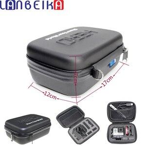 Image 1 - Lanbeika à prova de choque à prova dshockproof água portátil caso duro saco caixa proteção eva para sjcam sj8 sj4000 sj5000 sj6 go pro herói 9 8 7 6 5 4