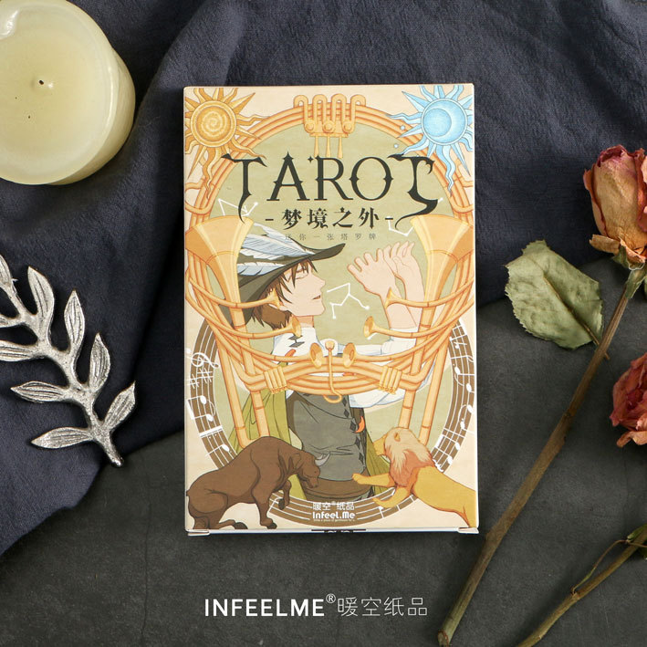 30 Sheets/LOT Creative Mysterious Tarot Postcard /Greeting Card/Wish Card/Christmas And New Year Gifts