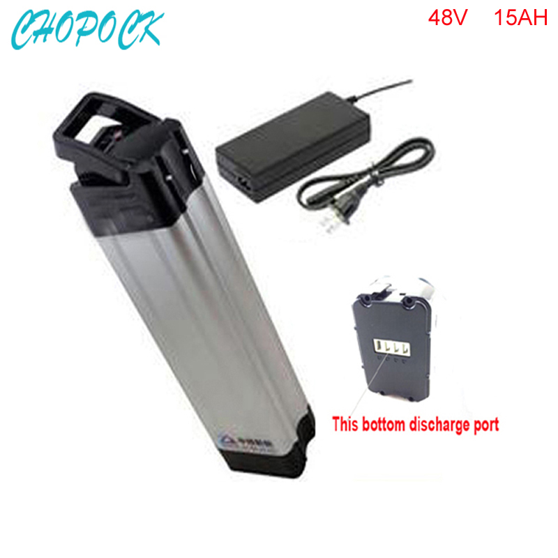 ebike 48v battery electric bike battery 48V 15Ah battery for 48v 1000w bafang/8fun 750w motor with Aluminium Case BMS Chargrer free customs taxes 48v 1000w bafang down tube ebike battery 48v 15ah samsung electric bike li ion battery with charger and bms
