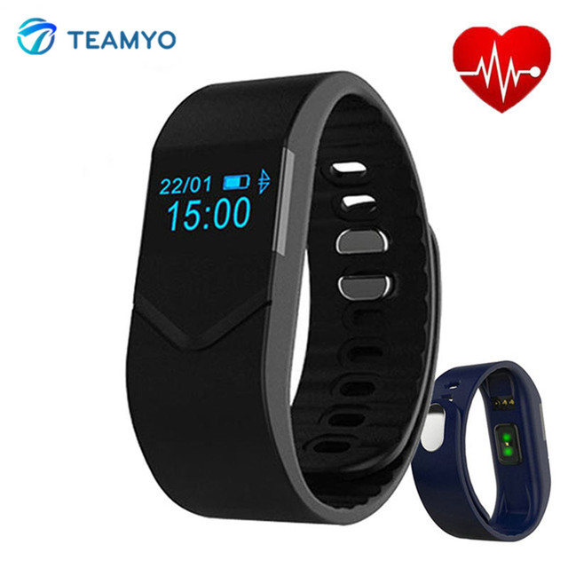 TEAMYO Smart Band M5 Smart Wristband Heart Rate Monitor Sport band Smartband Bracelet for IOS Android Fitness Tracker Anti-Lost