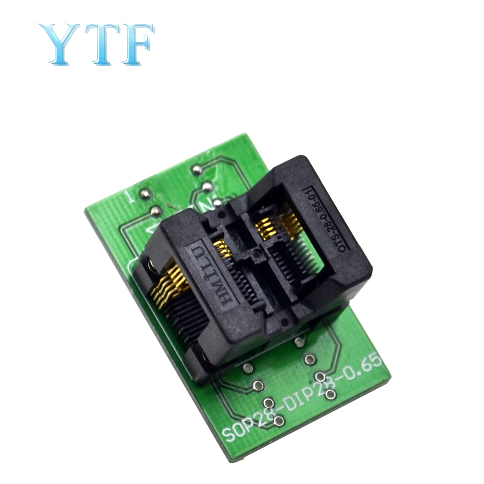 SSOP8(28)-0.65 Chip Test Stand 28-Turn DIP8 Burning Seat Ots8(28)-0.65-01