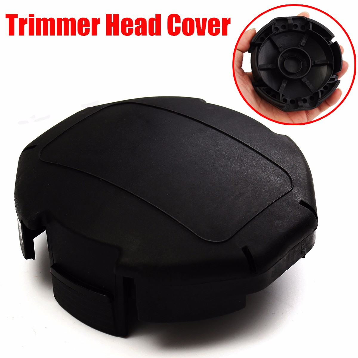 New 3Pcs Doersupp Trimmer Head Cover X472000070 for Shindaiwa Ech o Speed Feed 400 Head Lawn Mower Grass Cutter Tool Parts