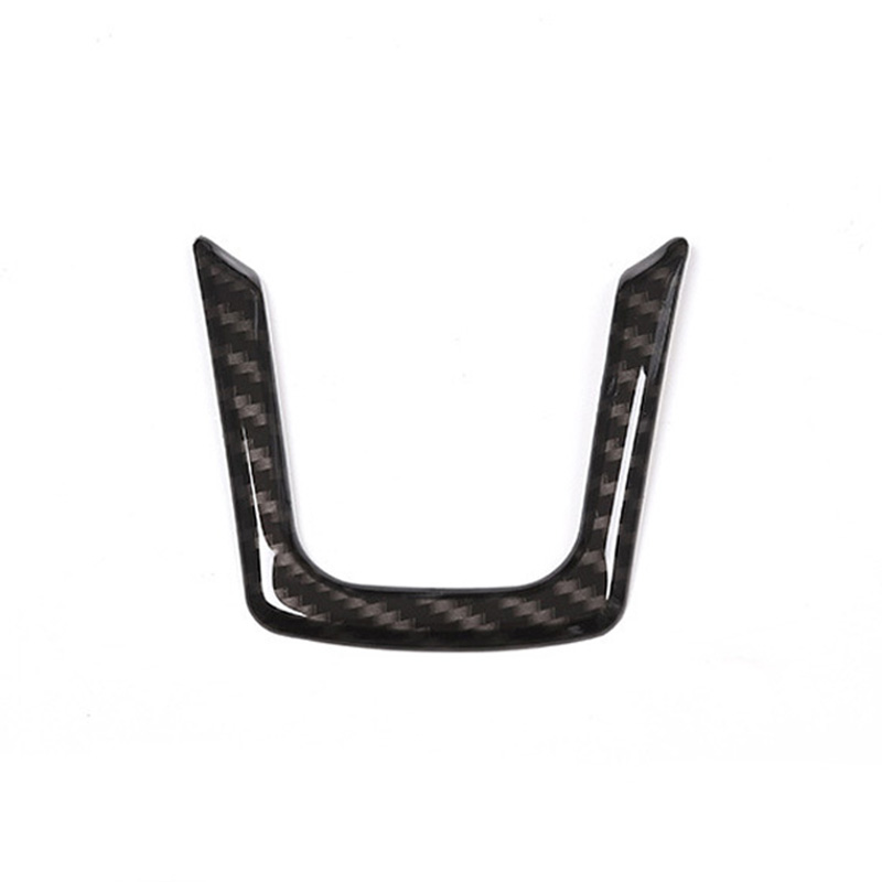 Steering Wheel U Strip Decorative Frame Cover Trim for Jaguar XE X760 XF X260 F PACE