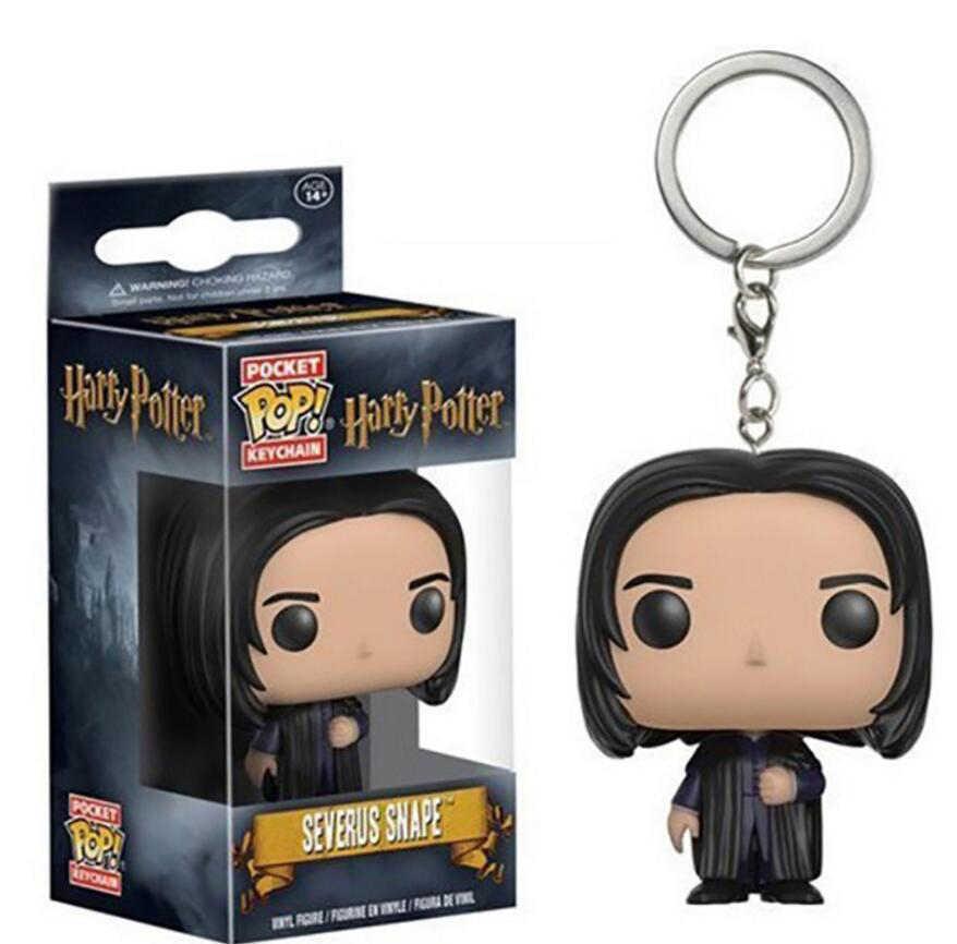 Funko POP брелок игрушки Гарри Поттер Гермиона Добби Снейп Лорд Волдеморт фигурка модель игрушки для chlidren