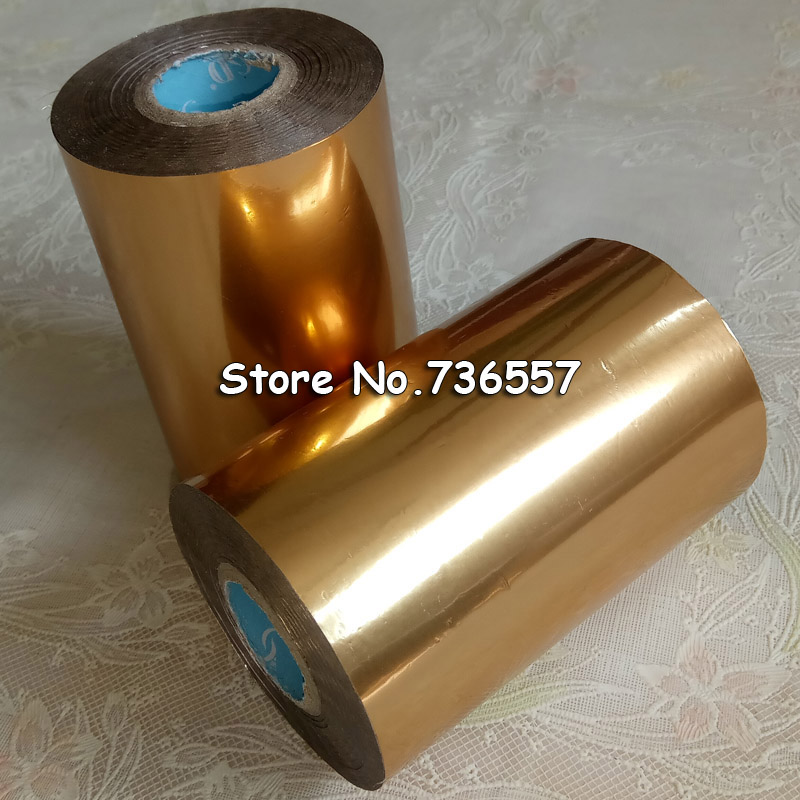 2pcs Matt Gold Leather Hot Stamping Foil Manual Gildin Foiling Paper for Stamping Machine Heat Transfer Paper PVC Credit Card