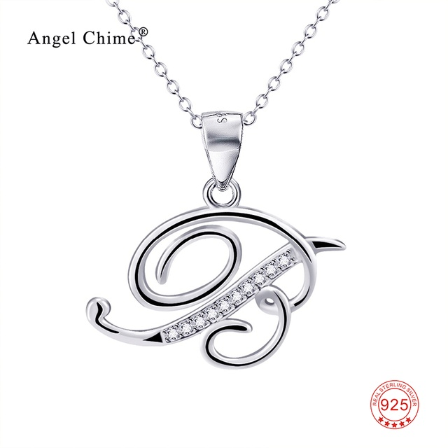 925 sterling silver personalized charm letter b pendants necklaces 925 sterling silver personalized charm letter b pendants necklaces initial tiny delicate minimalist necklace unisex jewelry mozeypictures Choice Image