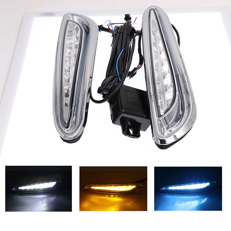 For Mazda 3 2010 2011 2012 2013 DRL Daytime Running Light Driving Relay LED 12V Daylight
