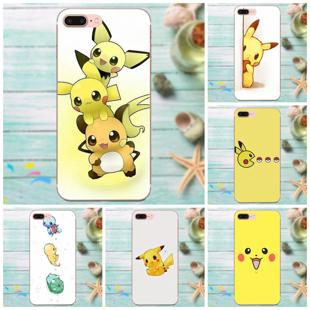 Cartoon Collection Pokemons Pikachus For LG G4 G5 G6 K4 K7 K8 K10 2017 V10 V20 V30 Stylus Nexus 5 5X G2 G3 mini spirit image