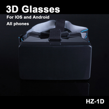 2016 NEW ZH-1D polarized glasses movies New Real Vr Box 3D movies  Sale  movie helmet Mobile Phone  Format Games