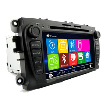 Free Shipping Hot sale 7 Sliver Car DVD GPS Player iPod BT Radio CAN BUS for