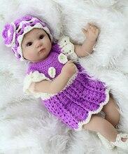Силиконовые Возрождается Куклы Младенца Реалистичные Ручной Работы Ребенок Жив Куклы Безопасные Классические Игрушки Куклы boneca bebe Игрушки reborn
