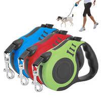 Cane Al Guinzaglio retrattile Automatico 3 M/5 M Flessibile Cucciolo di Cane Cintura di Corda Della Trazione Estensione Cane di Piombo per le Piccole cani di Taglia grande Prodotto Dell'animale Domestico