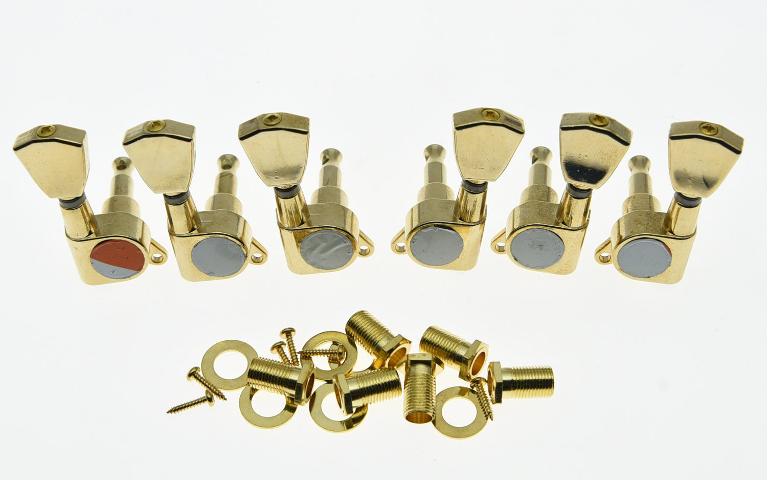 KAISH LP Guitar Tuners Tuning Keys Guitar Machine Heads Gold the black keys the black keys el camino 2 lp
