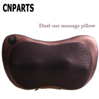 CNPARTS 1Pc 4/8 Balls Car Seat Protect Neck Massage Office Pillows For Alfa Romeo 159 BMW E46 E39 E36 E90 Audi A3 A6 C5 A4 B6 B8