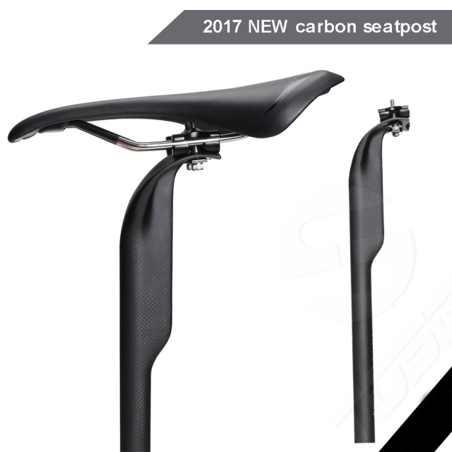 Carbon Bicycle Seatpost Adjustable Offset 50mm Mtb Road Mountain