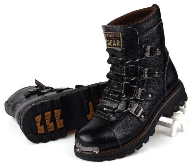 Extérieure armée militaire homme bottes chaussures de formation baskets  style punk cos joker Captain America pâte garçon hip hop rock roll dans  Bottes