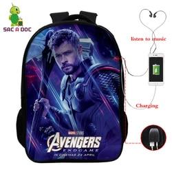 Avengers 16 Cal podróży torba szkolna dziewczyny chłopcy plecaki dzieci Plecak uczeń Plecak dzieci Bagpack Plecak Szkolny prezent 4