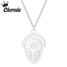 Chereda Radish Stainless Steel Necklaces & Pendants Women Silver Color Necklace Jewellery 3 Fashion Accessories Gift