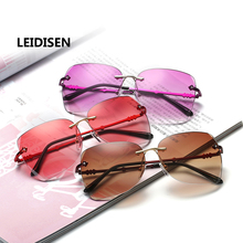 Women Sunglasses Men Sun Glasses Colorful Women Men Glasses Polarized Eye Glasses Elegant Rhinestone Ladies Sun Glasses 2668
