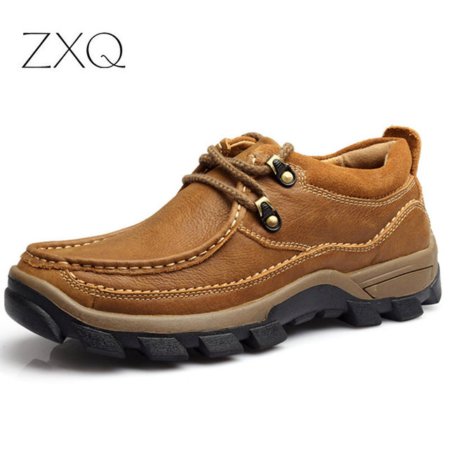 Four season high qaulity genuine leather men shoes breathable and deodorant dress shoes  for shipping
