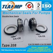 Mechanical-Seals Shaft-Size 24mm 12mm 208-12 Double-Face Material:Ca-Ce-Nbr