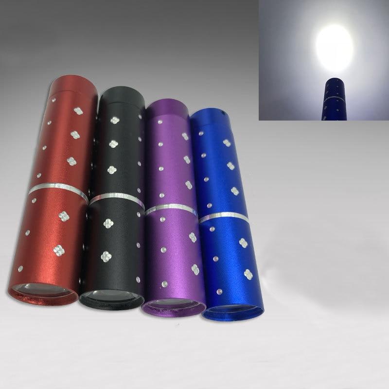 Mini LED Pocket Flashlight Aluminum Alloy Strong Light  Portable Medical Aid Bright Flashlight Torch Outdoor CampingSupplies