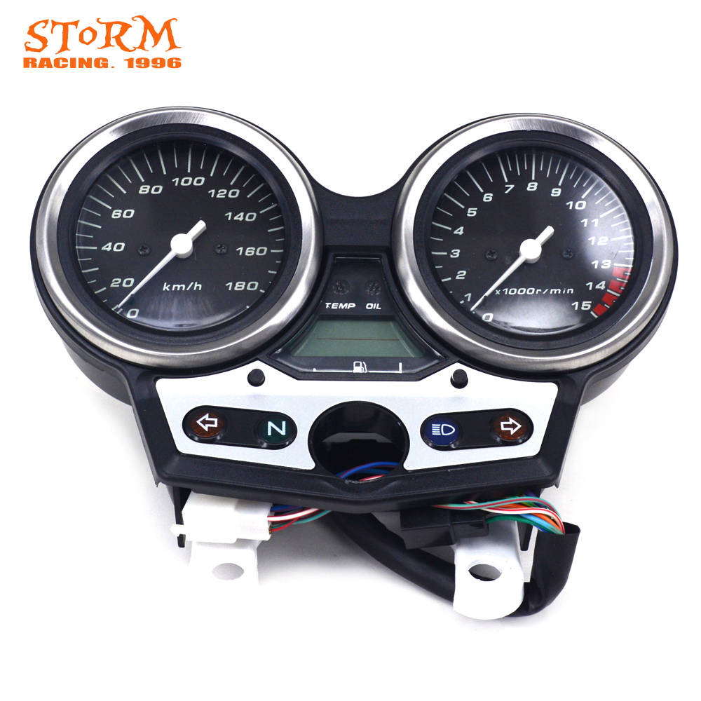 Motorcycle Speedometer Tachometer Odometer Display Gauges For HONDA CB400 VTEC I 1999 2000 2001 motorcycle front fender mudguard for honda cb400 vtec 1 2 3 4