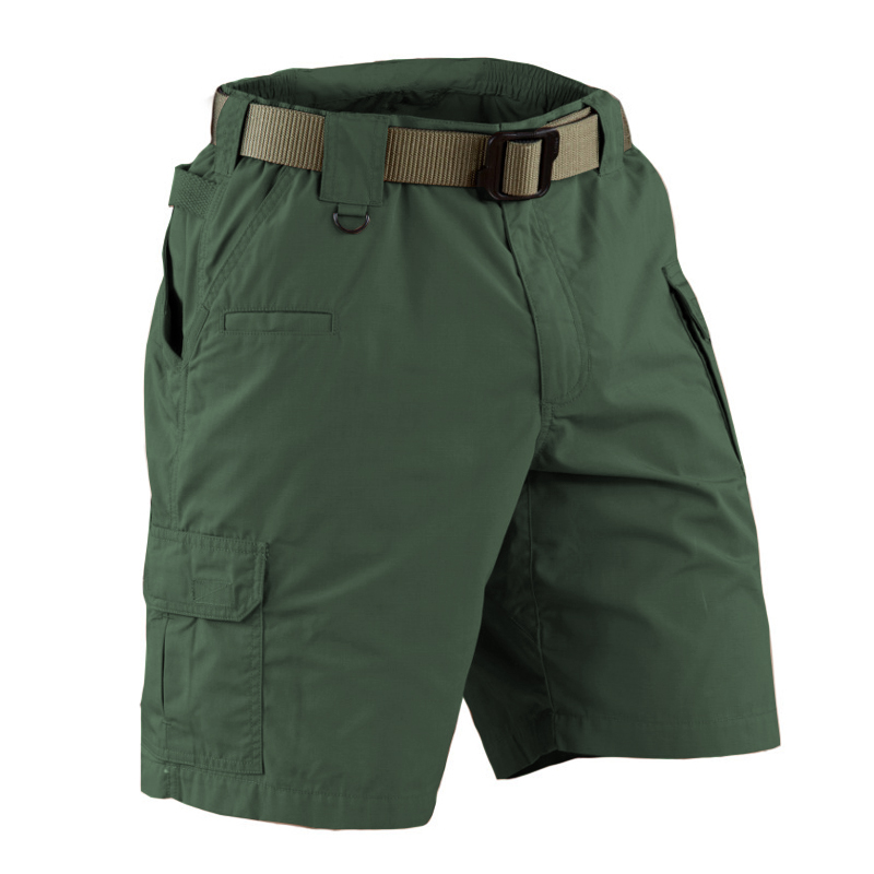 Hunting Military US army Multi-Pocket cargo shorts Mens Pockets Ripstop tactical Outdoor Sport Hiking Training Shorts