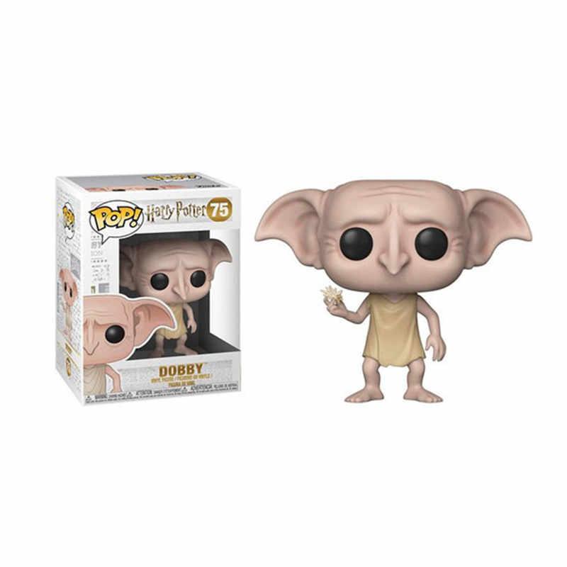 Funko POP Harri Potter Добби Sirius черный Hedwig Луна фигурка Коллекционная модель игрушки для детей Рождественский подарок