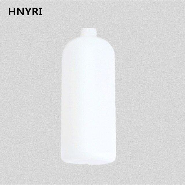 HNYRI yedek şişe 1000ML 27.5mm çap basınçlı yıkama köpük tabancası aksesuarı kar yıkama köpük jeneratörü sabun Lance topu