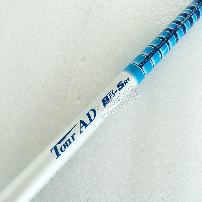 Cooyute New Golf shaft TOUR AD BB-5 Golf wood Graphite shaft R or S flex in choice 1pcs/lot Golf driver shaft Freeshipping