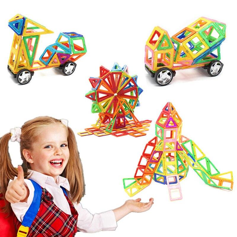 Espeon Магнитный конструктор блок 54/62/82/97 шт. построения моделей игрушки Просвещения Пластик модель Наборы образования игрушка магнит для дете... ...