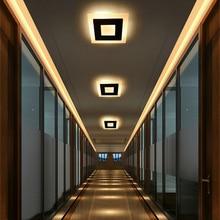 18w LED Ceiling Light Aluminum Acrylic Home Decor Ceiling Lamp Bedroom Living Room Hallway Lighting Light Fixture BL09x