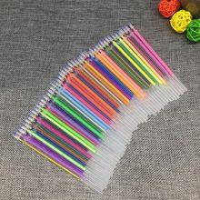 Stylo à bille de couleur brillante, 12, 24, 36, 48, 60 couleurs/ensemble, recharge pour Gel, dessin