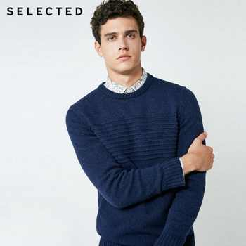 SELECTED Men's Autumn Wool-blend Round Neckline Knitted Pullover C|418325501 - DISCOUNT ITEM  58% OFF All Category