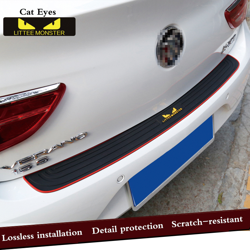 Car Trunk Door Crash Protection Strip Car Styling Scratch Protection Strip For Citroen c2 c4 c5 c4l c3 saxo xsara picasso