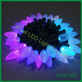 C7 Digital LED Christmas Llight ,F8 chip rgb ws2811 led christmas string pixel lights