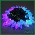 C7 Llight Digital de LED De Natal, F8 chip rgb ws2811 led de natal seqüência de luzes de pixels
