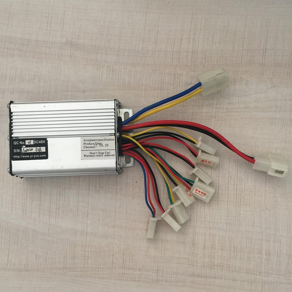 Controlador de Scooter el/éctrico con Panel de Control de Pantalla LCD y Accesorio de Interruptor de Cambio para Scooter el/éctrico VGEBY1 Controlador de Bicicleta el/éctrica