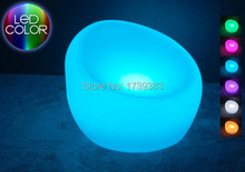 Waterproof LED sofa LED Armchair Bright Multi colors- ROUND decorating your living room, bedrooms, garden, pool, terrace etc