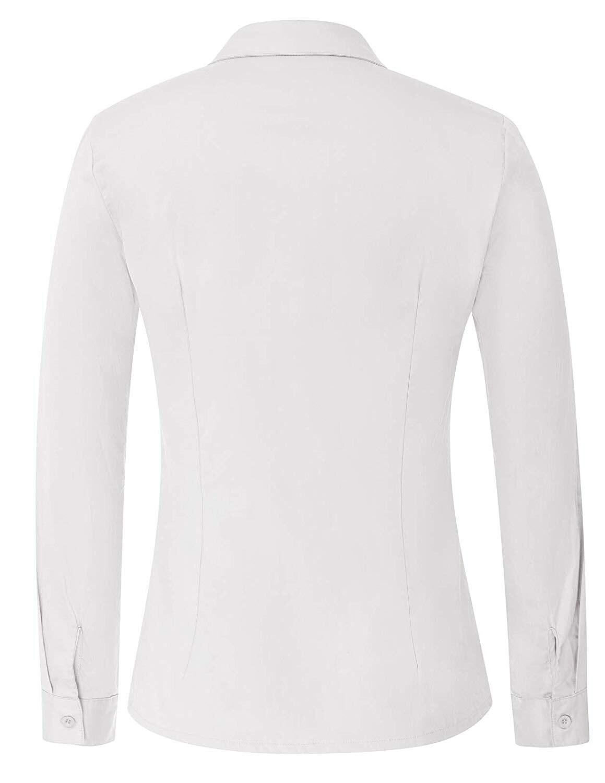 47 pezzo del Cotone delle Donne Ufficio Formale Imbottiture Camicia Batik del Cotone Batik Casual Cotone-in Magliette da Abbigliamento da donna su  Gruppo 1